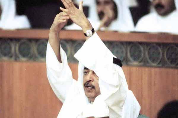 سامي المنيس مناضل سياسي وطني ونائب سابق وأحد مؤسسي المنبر الديمقراطي الكويتي